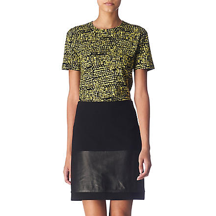 DIANE VON FURSTENBERG New Gelassia top (Green