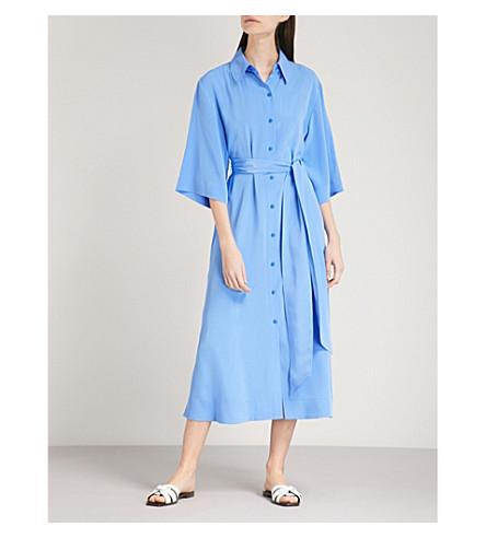 DIANE VON FURSTENBERG Belted silk shirt dress (Hydranger