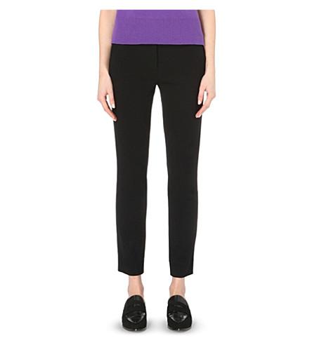 DIANE VON FURSTENBERG Genesis cropped trousers (Black