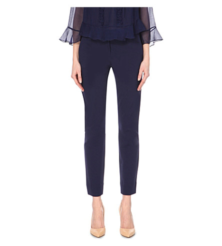 DIANE VON FURSTENBERG Genesis cropped trousers (Midnight