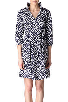 JIL SANDER Printed flared shirt dress