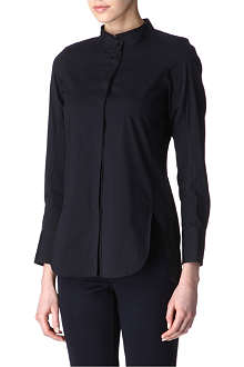 JIL SANDER Cotton-blend shirt