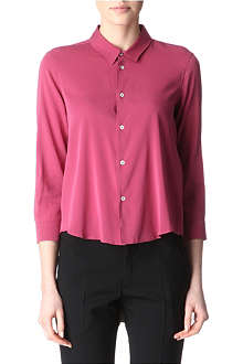 JIL SANDER Stretch-silk shirt
