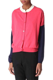 JIL SANDER Colour-block cardigan