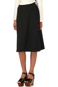 JIL SANDER Flared midi skirt