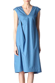 JIL SANDER Pleated sleeveless dress
