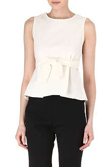 JIL SANDER Bow belt top