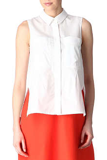 JIL SANDER Sleeveless shirt