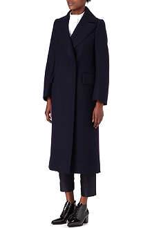 JIL SANDER Oversized-lapel wool-blend coat