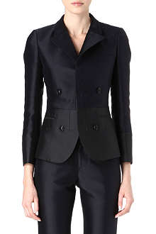 JIL SANDER Silk-blend suit jacket