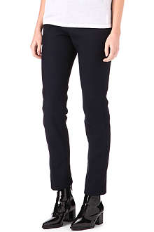 JIL SANDER Twill slim-fit trousers