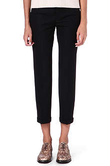 JIL SANDER Cropped trousers