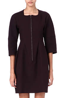 JIL SANDER Zip-front flared dress