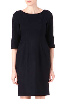 JIL SANDER Wool boat-neck dress