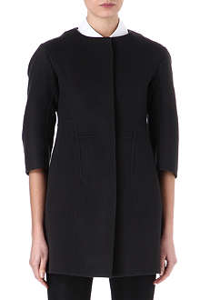 JIL SANDER Single-breasted wool coat