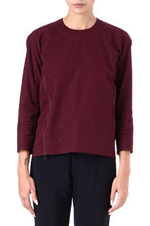 JIL SANDER Side-zip top