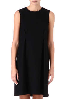 JIL SANDER Wool-blend flared dress