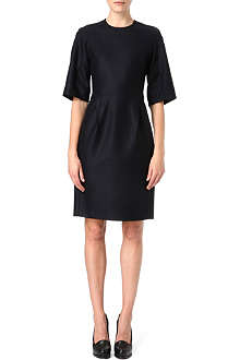 JIL SANDER Wool jersey shift dress