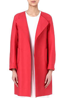 JIL SANDER Collarless coat