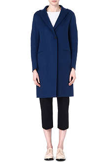 JIL SANDER Single-breasted cashmere coat