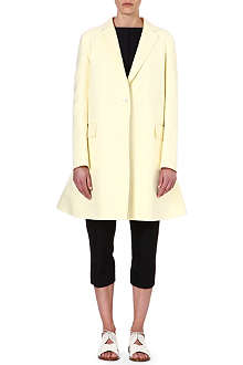 JIL SANDER Richfie cotton coat