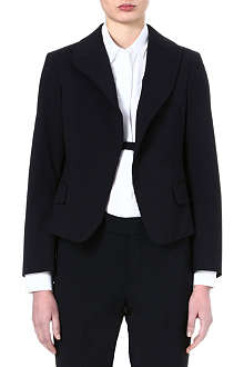 JIL SANDER Compact wool one-button blazer