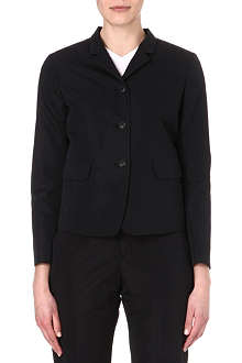 JIL SANDER Richter cotton and silk-blend jacket