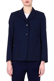 JIL SANDER Fine wool two-button jacket