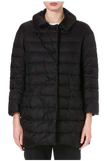 JIL SANDER Record quilted coat