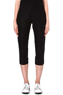 JIL SANDER Rasmus cotton and wool-blend trousers
