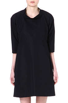 JIL SANDER Stand-collar shift dress