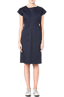 JIL SANDER River stretch-cotton dress