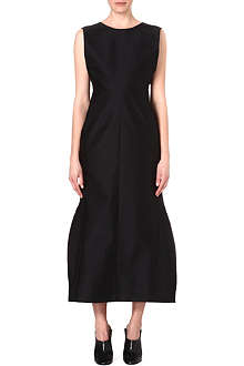 JIL SANDER Structured maxi dress
