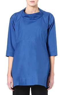 JIL SANDER Poplin cotton tunic