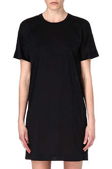 JIL SANDER Short-sleeved jersey dress