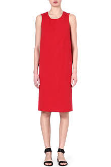 JIL SANDER Sleeveless cotton dress