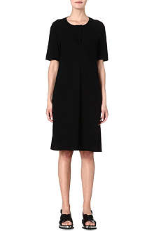 JIL SANDER Cotton jersey dress