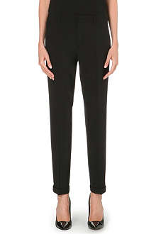 JIL SANDER Pepino stretch-wool trousers