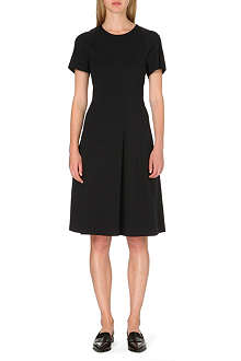 JIL SANDER Pleated jersey dress