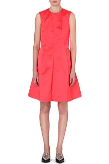 JIL SANDER Panelled satin dress