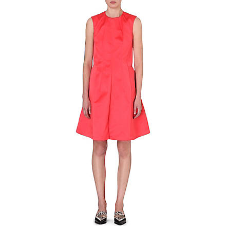 JIL SANDER Panelled satin dress (Light