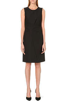 JIL SANDER Sambuco pleated-waist dress