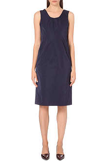 JIL SANDER Sagoma sleeveless satin dress