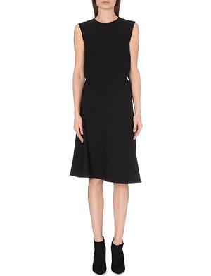 JIL SANDER Sleeveless stretch-wool dress