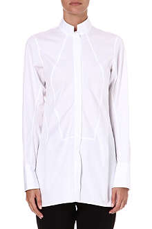 JIL SANDER Sheila cotton tunic shirt