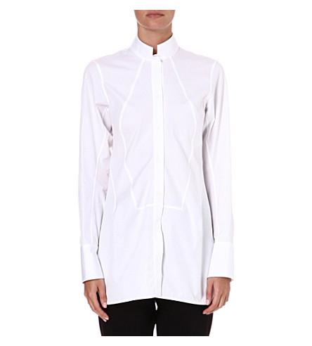 JIL SANDER Sheila cotton tunic shirt (White