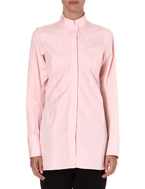 JIL SANDER Sheila cotton tunic shirt