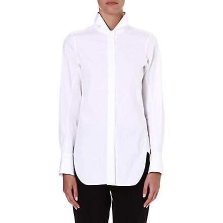 JIL SANDER Sonia cotton shirt (White