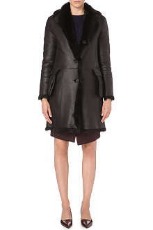JIL SANDER Reversible shearling coat