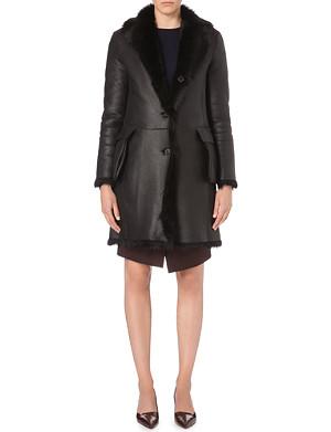 JIL SANDER Reversible shearling coat